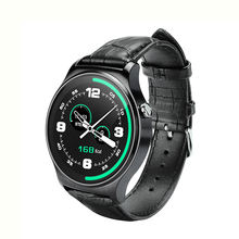 Купить с кэшбэком Ordro GW01 Smart Watch Bluetooth call For Android Phone Man SMS With Whatsapp Facebook Twitter Genuine leather
