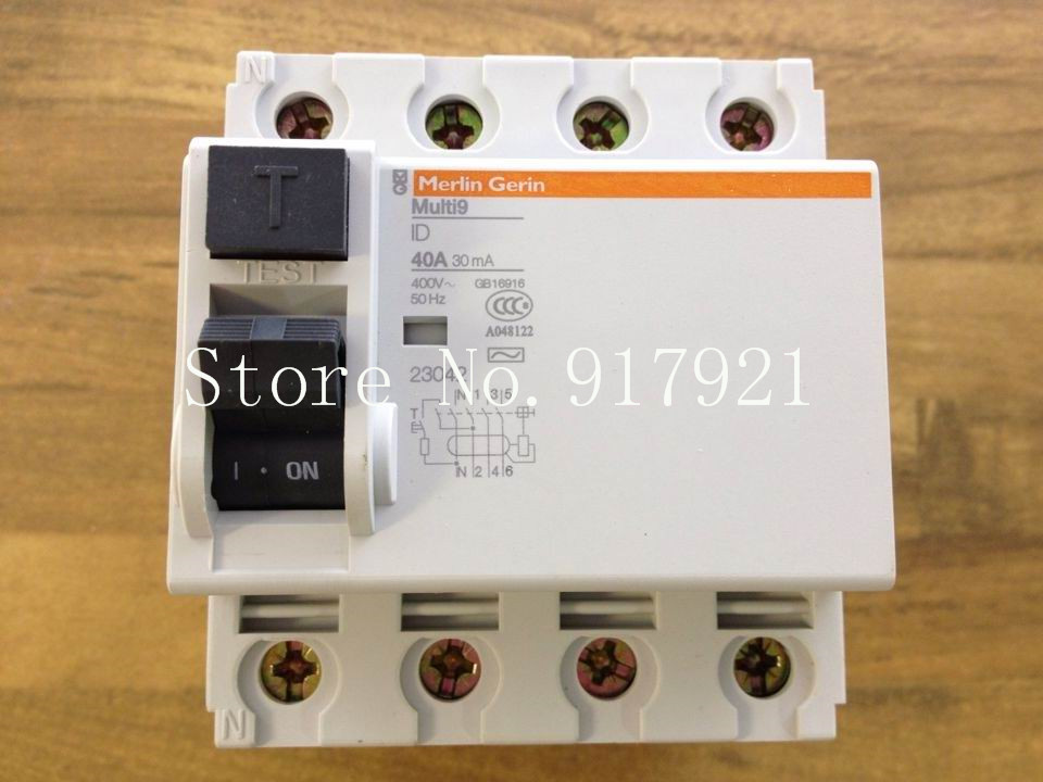 [ZOB] original RCCB 40A 30MA 23042 circuit breaker leakage following the new genuine leakage circuit protector air switch residual current circuit breaker dz15le 100 490 100a