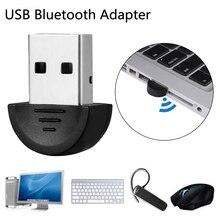 Мини USB Bluetooth адаптер V2.0 CSR Двойной режим беспроводной Bluetooth ключ 2,0 передатчик для ПК ноутбук Win XP Vista7/8/10