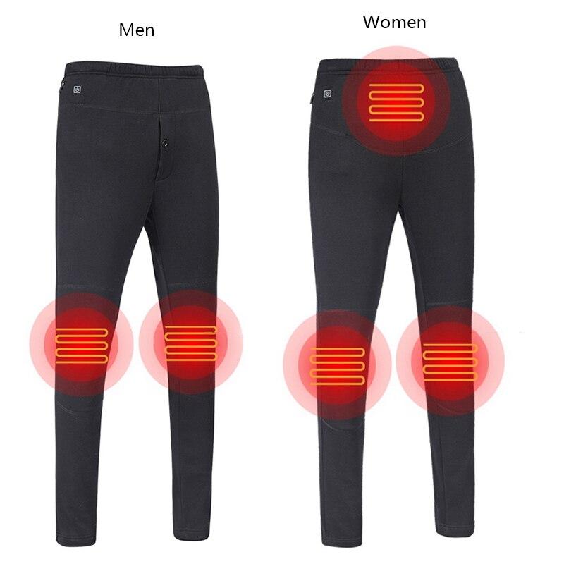 Топ Новые мужские женские походные теплые брюки Кемпинг Альпинизм Рыбалка Подогреваемые штаны уличные износостойкие эластичные брюки