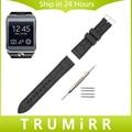 22mm pulseira de borracha de silicone + ferramenta para samsung galaxy gear 2 R380 Neo R381 Live R382 Smart Watch Band Alça de Pulso Pulseira
