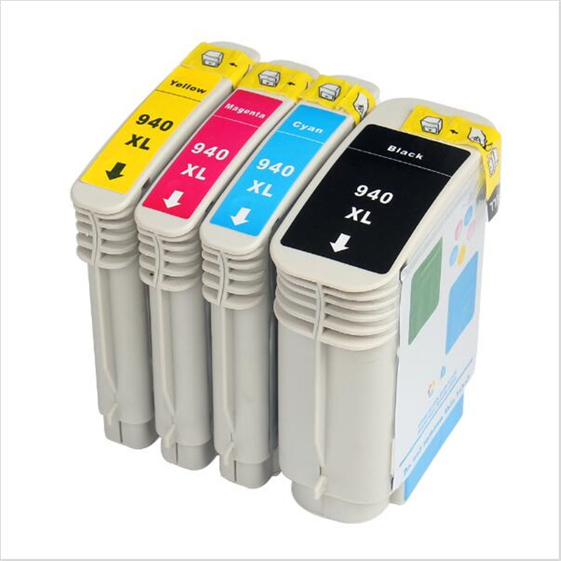 4 x für hp 940xl tintenpatrone kompatibel für hp officejet pro 8000-a809a/a811a/a809n/8000...