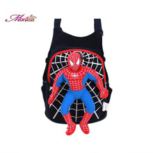 Cotton kindergarten baobao backpack cartoon cute mini backpack spider man superhero backpack feminina children school