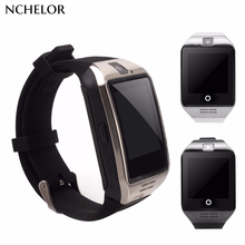 Bluetooth Q18 Fitness Tracker Smart Watch Smartwatch Relogio Watch Camera for IOS Apple Hua wei Android Phones PK DZ09 Y1
