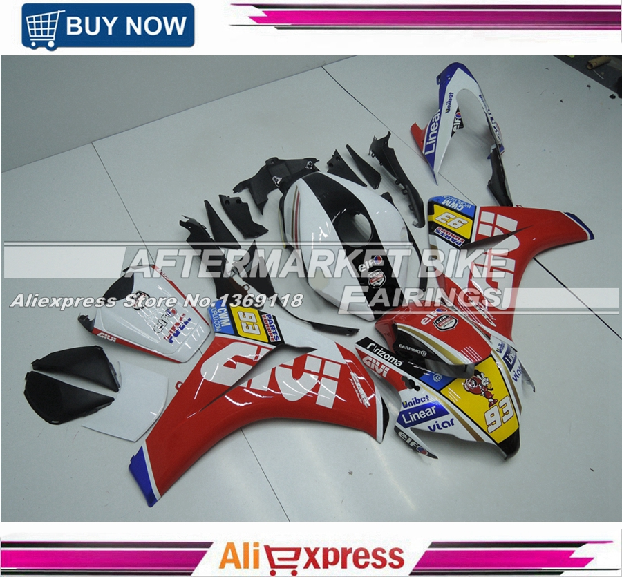 njection Mold Fairings For Honda CBR1000RR 08-11 CBR 1000RR 2008-2011 1000 RR 2008 2009 2010 2011 Fairing Kit GIVI