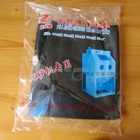 내구성 신 샌드 블라스팅 샌드 블라스팅 머신 고무 장갑 부드럽고 산성 및 알칼리 내성 80 cm 길이 노동 보호