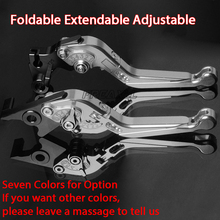 For SUZUKI SFV650 SFV 650 GLADIUS 2009-2015 Foldable Extendable CNC Alumium Motorbike Accessories Motorcycle Brake Clutch Levers цена