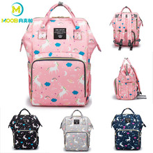 Diaper Bag Maternity Backpack Nappy Nursing Changing Baby Bags For Mom Large Capacity Baby Stroller Bags Waterproof MOOB