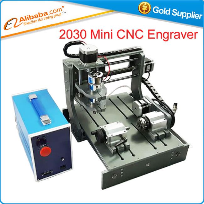 Cheap LY CNC 2030 4axis 300W Mini wood Engraving Machine milling router USB & parallel 2 in 1 machine mini cnc router machine 2030 cnc milling machine with 4axis for pcb wood parallel port