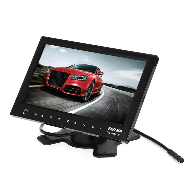 7 inch 2-Way Bluetooth Car Touch Monitor TF USB MP5 w/ Remote Control Pre-installed map Support Video Audio Player Car Monitor