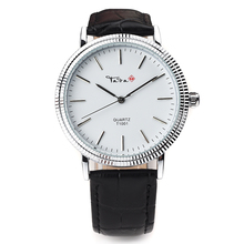 Top Luxury Brand TADA High Quality 3ATM Waterproof Relojs De Marca Genuine Leather Strap Wathes men Fashion Male Wristwatches