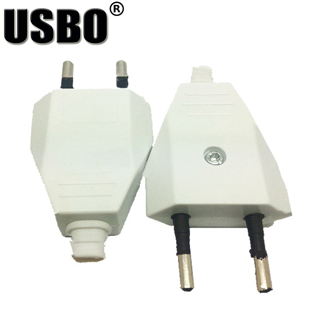 High quility 2.5A 250V 2 pins removable ABS material Europe standard  Adaptor plug for mobile