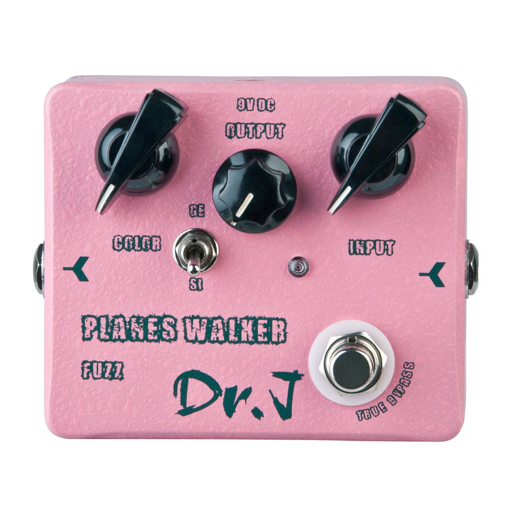 Dr. J D-56 Planes Walker Fuzz Hand Made Electric Guitar Effect Pedal Professional Guitar Accessories efeito True Bypass hand made loop electric guitar effect pedal looper true bypass 3 looper switcher guitar pedal hr 1
