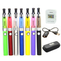 1pc/Lot Colorful 1.6ml CE5 EGO Atomizer with 900mah EVOD Battery Zipper Case Kit CE5 Atomizer Clearomizer EVOD Vape Pen