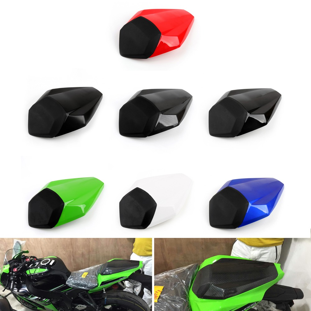 Areyourshop Motorcycle ABS plastic Rear Seat Cover Cowl For Kawasaki Nijia ZX10R ZX10 R 2016 2017 Motorbike Part Styling|Seats & Benches| |  - title=