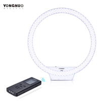 YONGNUO YN308 LED Ring Light Wireless Remote Video Light 3200K 5500K Color Temperature Annular And Frameless