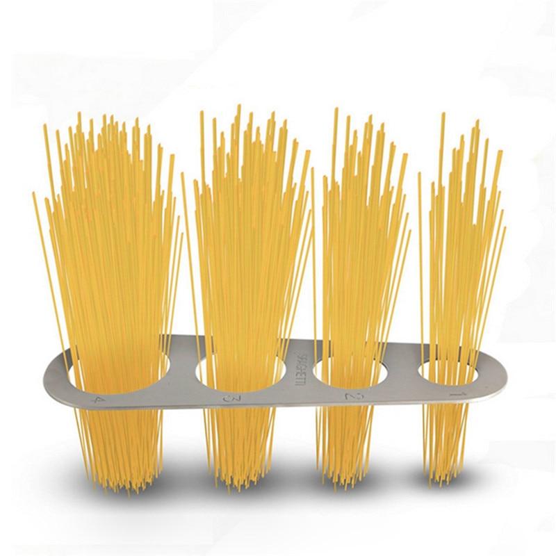4 Serving Portion HonXins Stainless Steel Spaghetti Measure