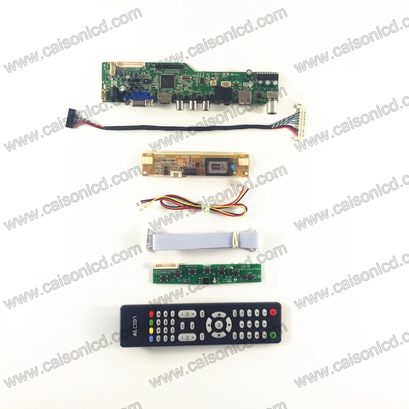 Free shipping m6v5 VGA HDMI AV Audio USB TV LCD Controller Board for 18.5 inch 1366x768 M185XW01 V0 2CCFL LVDS Monitor Kit discharge power fuse l1b a800xp1 b88069x6551b201 chase flow 800v
