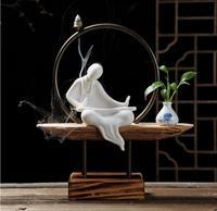 Фарфоровая керамика, ручная роспись цветы вставлен, Цветочная композиция, творческая ваза, гостиная украшения, ремесла, orname