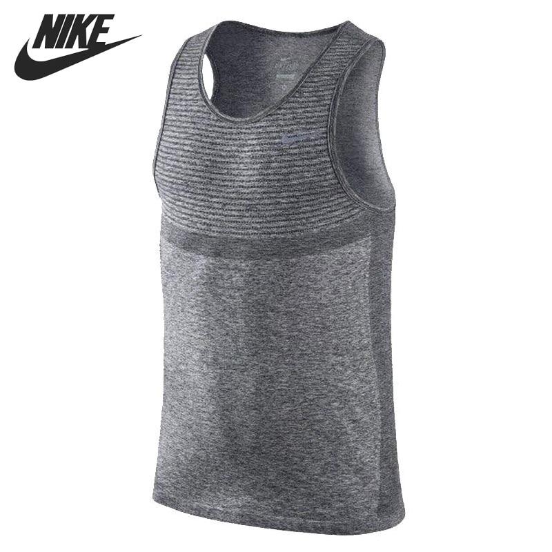 ФОТО Original New Arrival NIKE AS NIKE DRI-FIT KNIT SINGLET Men's T-shirts Sleeveless Sportswear