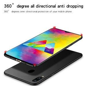 Image 5 - Pour Samsung Galaxy M20 Cas Mince Ultra Mince de Luxe Lisse Dur PC Téléphone étui pour Samsung Galaxy M20 Housse Pour Samsung M20 Fundas
