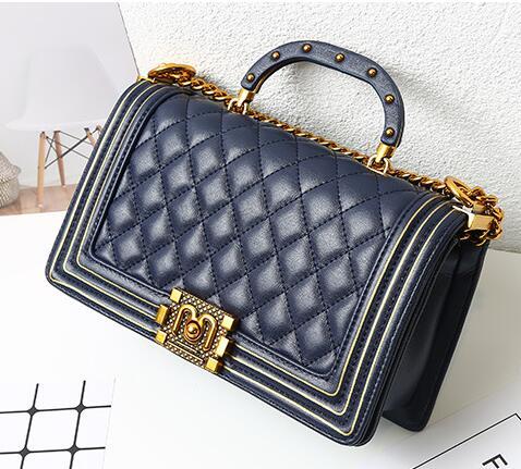 2019 women Chain Shoulder leather handbag bolsa feminina messenger bags bolsos mujer luxury handbags clutch bag