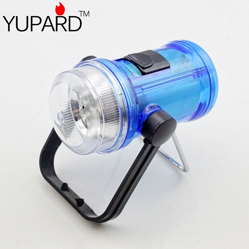 YUPARD hot sale 7 LED Portable Camping Tent Lantern Fishing Light free shipping 4 AA battery outdoor sport flashlight