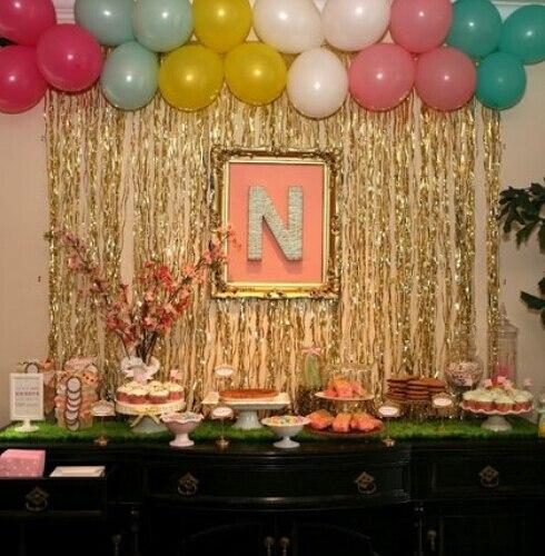 31M Wedding Decoration Home Pub Birthday Party Stage Backdrop
