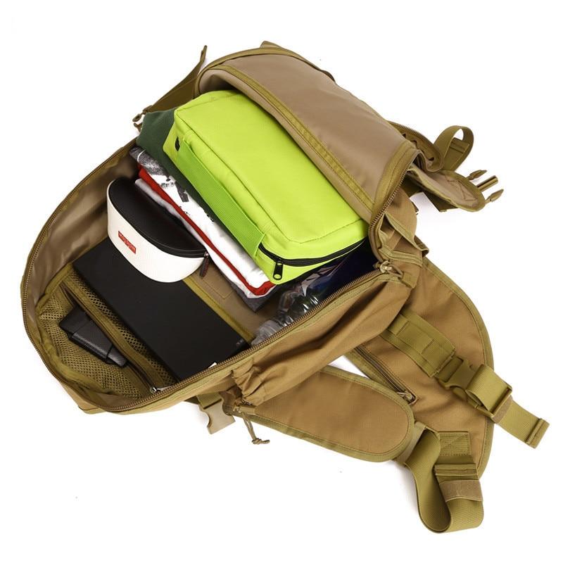 Baganta e shpatullave ushtarake burra najloni me cilësi të lartë - Çanta dore - Foto 5