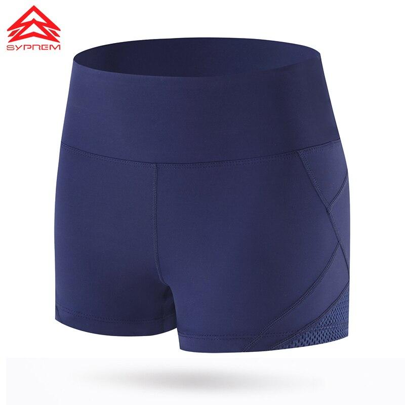 Syprem Damen Laufshorts Sport Atmungsaktiv Schwarz Kurze Leggings - Sportbekleidung und Accessoires - Foto 5