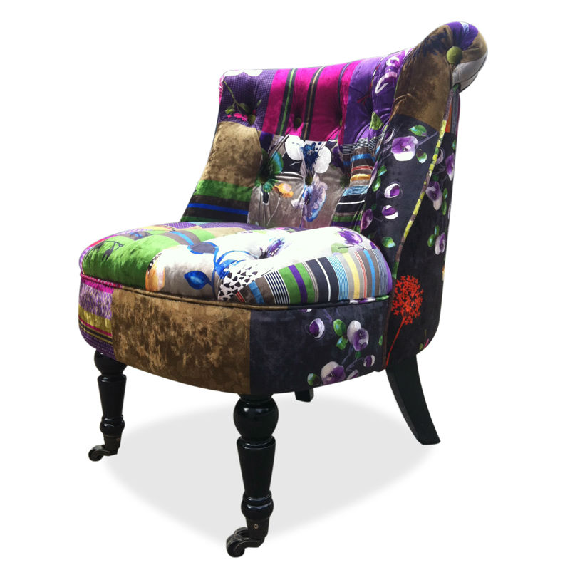 Printed Flannel Sofa Living Room Furniture Lounge Sofas Occasional Chair Acce