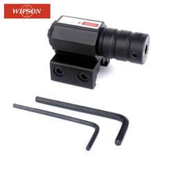 WIPSON 50-100 м Диапазон 635-655nm красный точечный лазерный прицел пистолет регулируемый 11 мм 20 мм пикатинная рельсовая Охота аксессуар новый