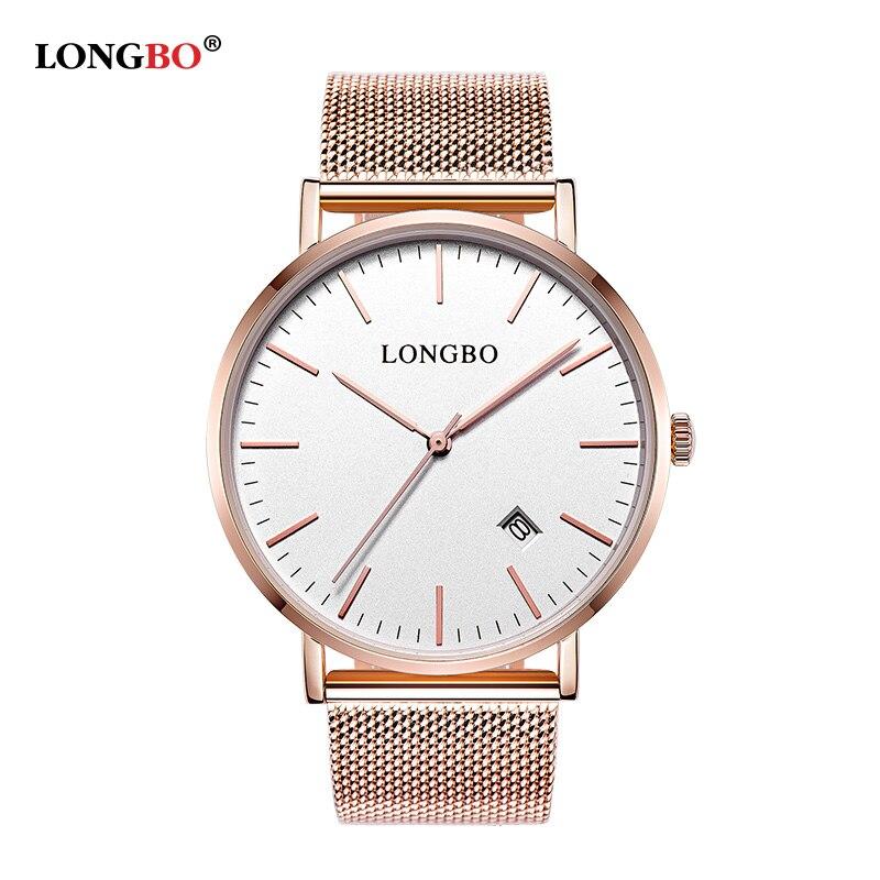 LONGBO Mens Top Brand Luxury Fashion Watchs