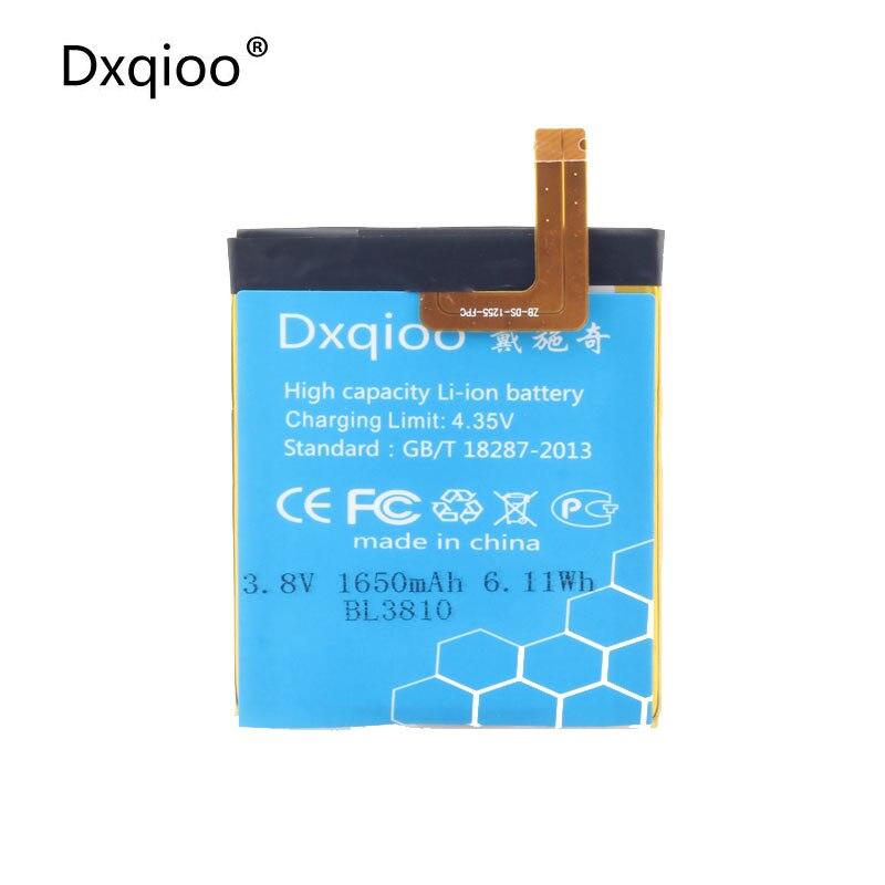 Dxqioo BL3810 IQ4415 battery for Fly BL3810 IQ4415 Quad IQ4415 Q Batteries