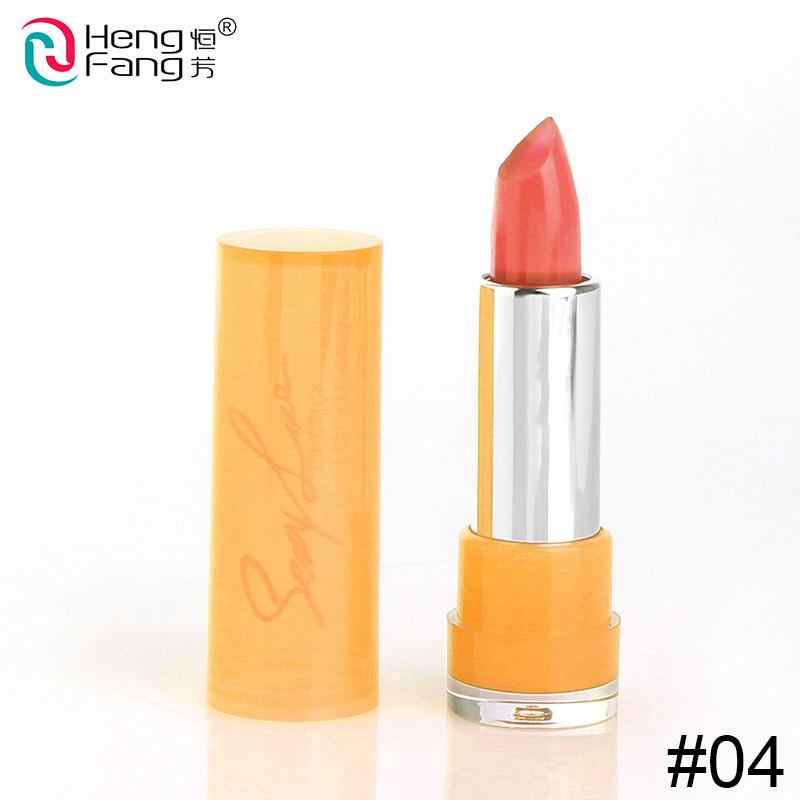 Temperature-changed Lipstick Lip Balm 7 Colors Lipbalm Nutritious Lips 3.5g Makeup Brand HengFang #H9223-H9266 10
