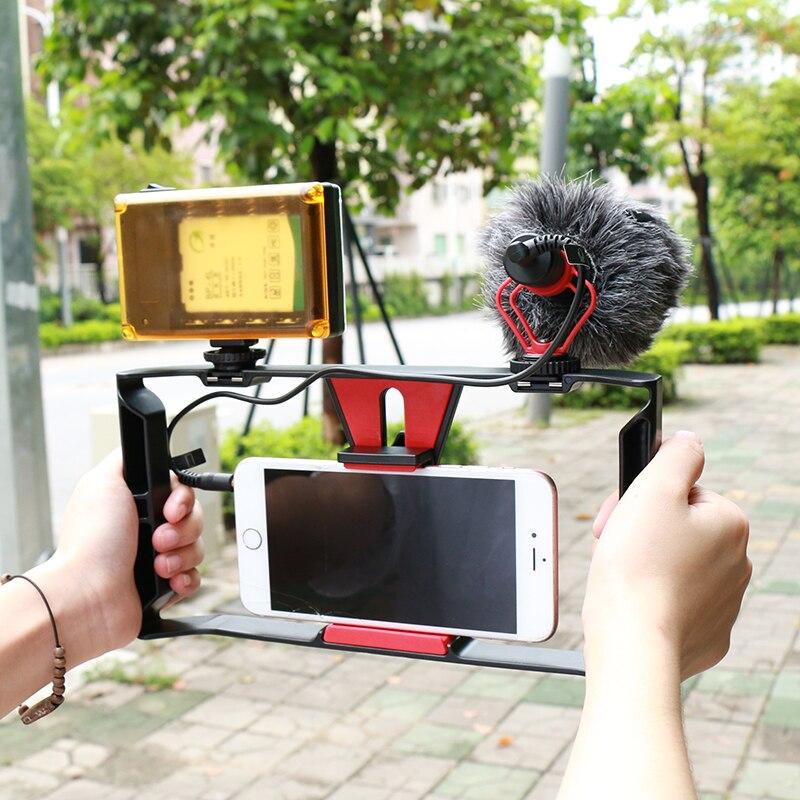 Ulanzi BOYA BY MM1 Shotgun Microphone Video Interview Mic for Smooth Q DJI OSMO Nikon DSLR