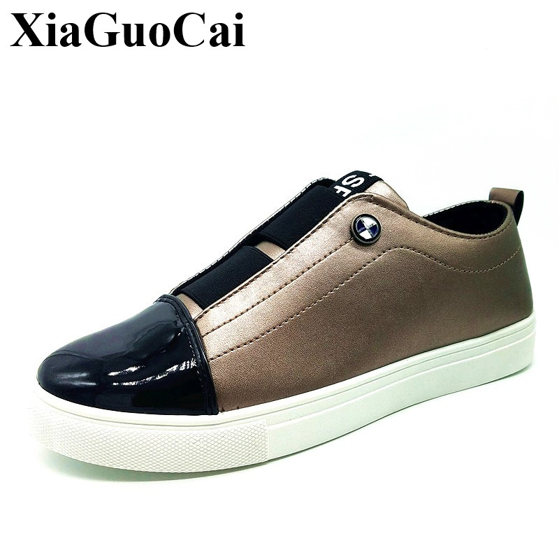 Summer Casual Shoes Men Loafers Fashion Slip-on Shoes British White Black Flats Leather Shoes Breathable Non-slip H307 35 hot 2017 new fashion womens weave shoes spring summer mixed color breathable casual shoes flats slip on loafers tenis feminino