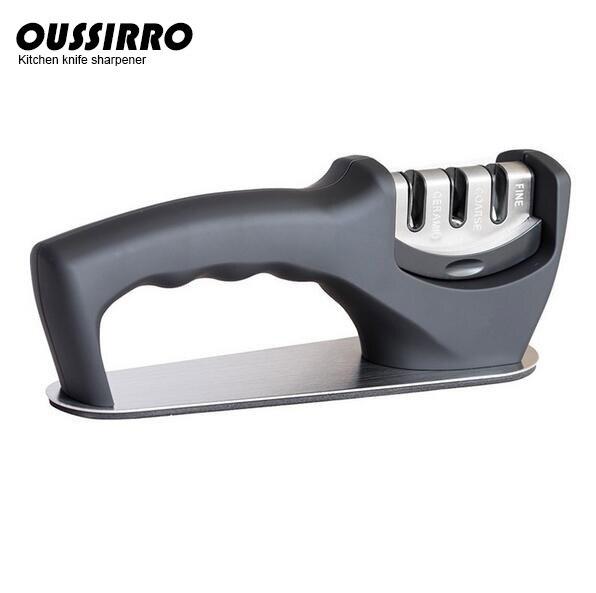 OUSSIRRO Brand Knife Sharpener Ceramic Knives Sharpening Diamond Grinding Wheel Tungsten Steel Matel Amolador De Faca