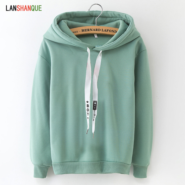Long Sleeve Solid Color Sweatshirt Hoodie Tracksuit Sportswear