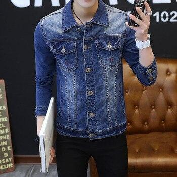 New Mens Denim Jacket Coat Male Outwear Jaqueta Masculino Jeans Jacket and Coats Fashion Design Spring Autumn Brand Clothing 3XL Torex