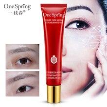 Ageless Original Oční krém Léčba snižující hluboké vrásky Anti Ageing, Tašky a Tmavé kruhy Červený Granátový Ovoce Gel One Spring