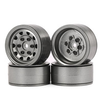 4pcs AUSTAR AX 617 1.9inch RC Metal Wheels Hub Rim Set for Axial SCX10 RC4WD D90 1/10 RC Car RC Parts Accessories