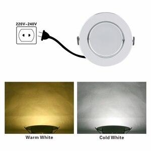 Image 4 - LED ダウンライト 3 ワット 5 ワット 7 ワット 9 ワット 12 ワット AC220V 230V 240V ウォームホワイトコールド凹型 Led ランプスポットライト Led 電球キッチン