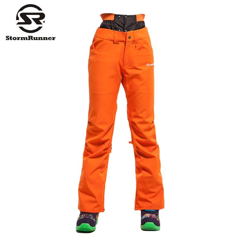Livraison gratuite femmes Ski pantalon Camouflage Ski pantalon femme Snowboard pantalon imperméable 10 K hiver extérieur neige Skiwear - 3