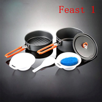 Fire Maple Feast 1 Kitchen Cooking Pots Pannikin Frying Pan For 1 2 Person Camping Cooking