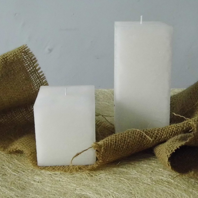 New Creative Scented Birthday Weddings Candles Flameless Rectangle Black White Candles Weddings Birthday Decoration Centerpieces