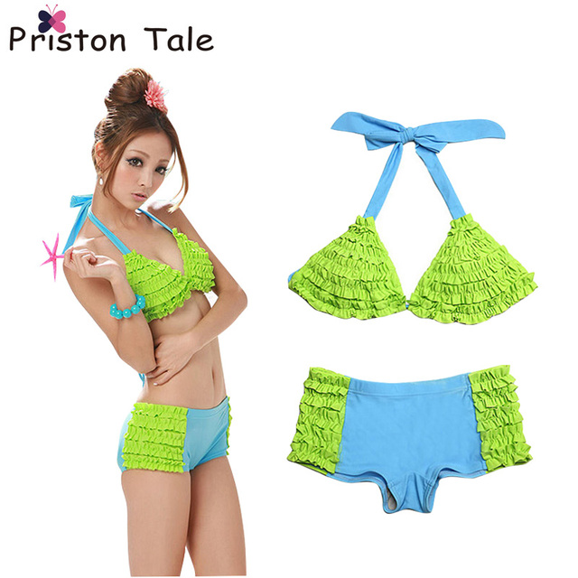 18171aff10 2017 Hot Sale Women Bikinis Brazilian Bikini Swimsuit Women Bathing Suit  Mix Color Folding Thong Bikinis Swimwear Bathing Suit