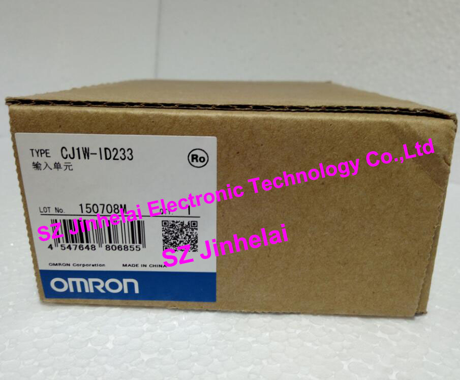 CJ1W-ID233  New and original OMRON PLC INPUT UNIT 100% new and original cj1w nc433 omron position control unit