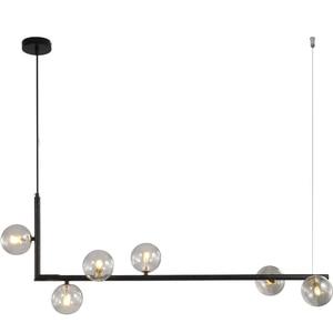 Image 3 - מודרני זכוכית כדור נברשת נורדי אוכל חדר ארוך שולחן תליית אור Creative דקור מנורה ההשעיה עבור בר/חנות