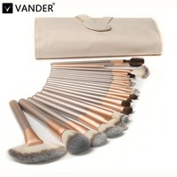 Vander 12 18 24pcs Luxury Professional Makeup Brushes Set Cosmetic Toiletry Kits Foundation Powder Concealer Blending